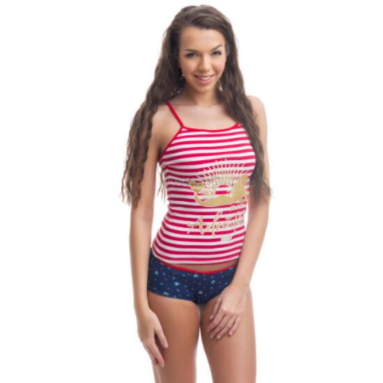 POPPY Reni Sailor 2 részes trikó szett, 1/2-es pizsama
