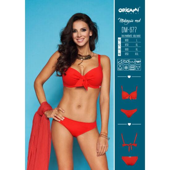 Origami Bikini Malaysia Red DM-677