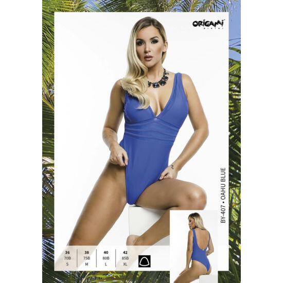 ORIGAMI BIKINI Oahu Blue BY-407