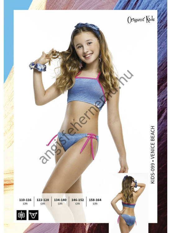ORIGAMI BIKINI Venice Beach - Kids-099