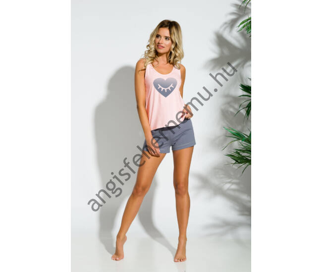 LEA Peach női pizsama (2152-2)