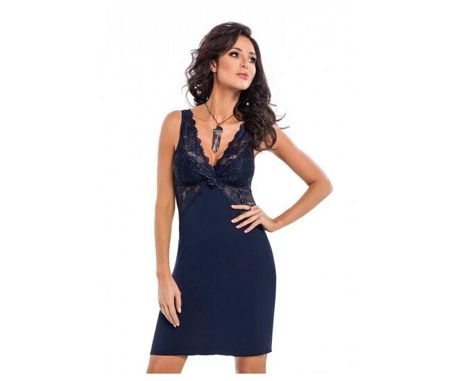 IRINA Dark blue Exclusive női hálóing