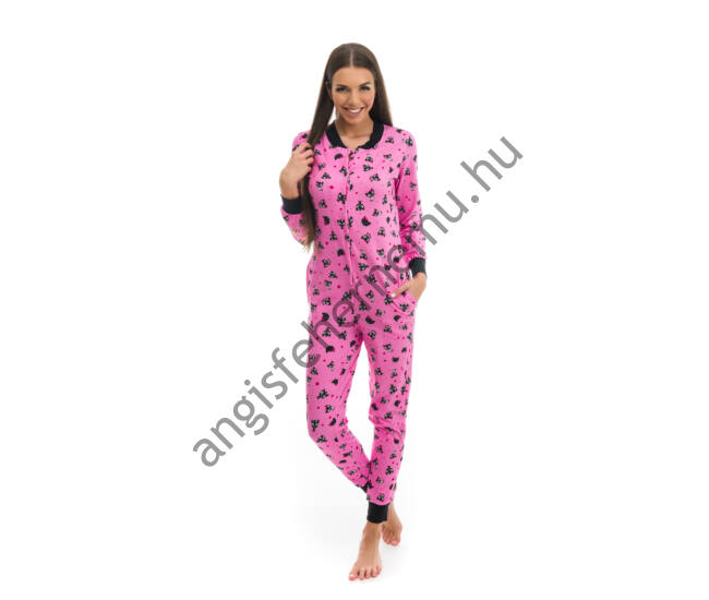 POPPY Pez Masnis cica pamut pizsama-overál