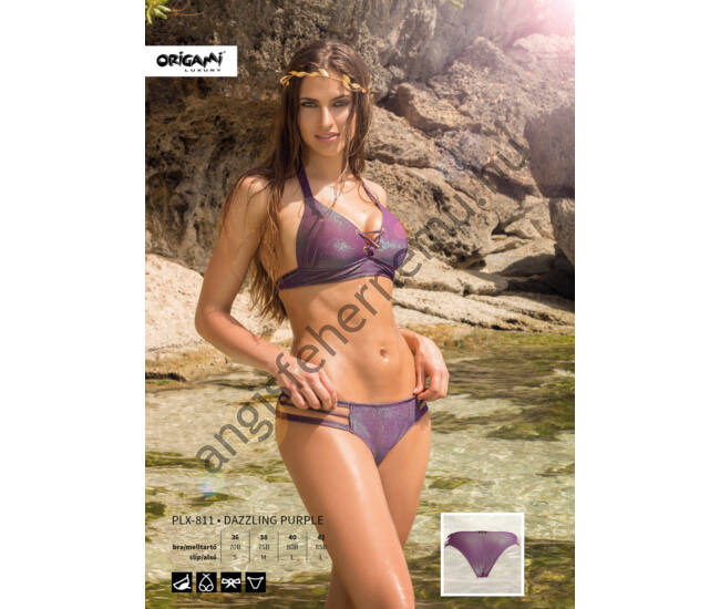 ORIGAMI BIKINI Dazzling Purple PLX-811