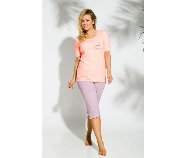 MAGDA Peach női pizsama (209-2)