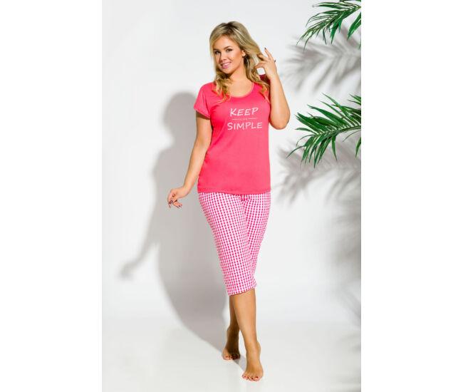 PAULA Dark Pink női pizsama (2194-1)