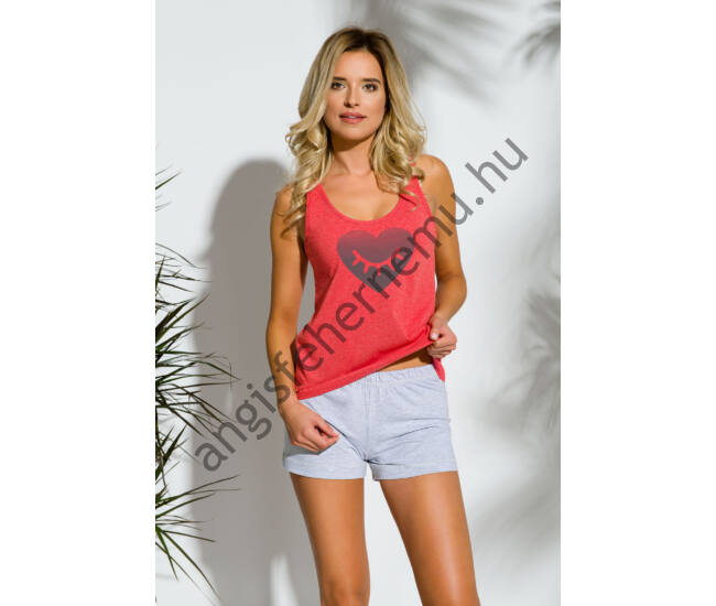 LEA Red női pizsama (2152-1)