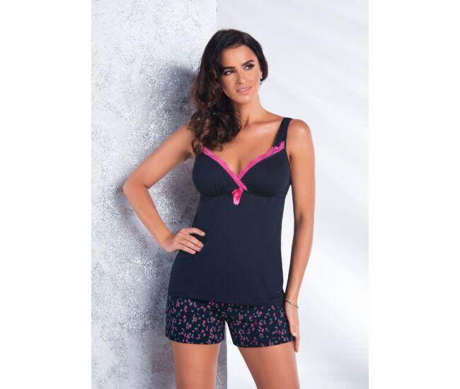 MARINA Blue Exclusive 1/2-es női pizsama