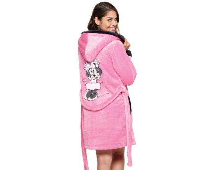 POPPY DK MINNIE köntös - közép pink-fekete
