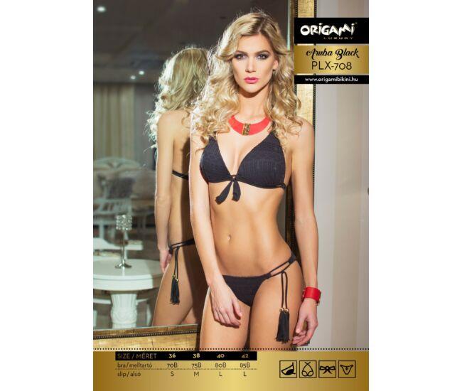ORIGAMI BIKINI Aruba Black Luxury PLX-708