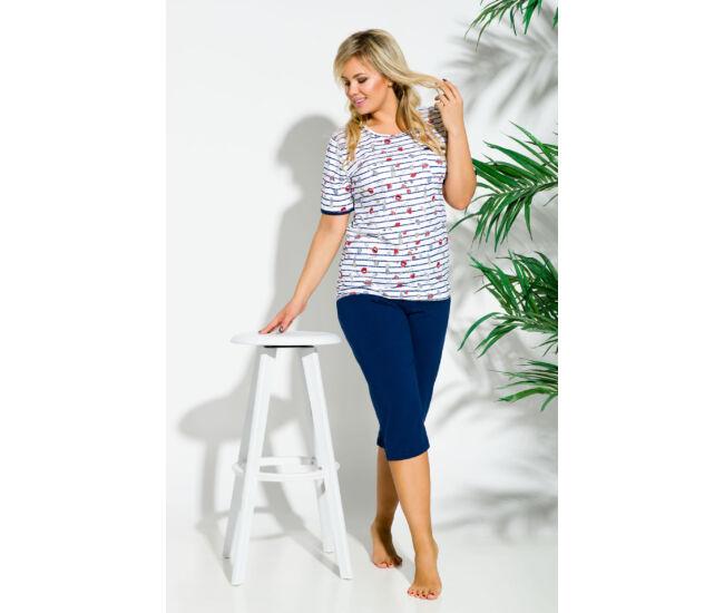 KATE Blue 2XL-3XL női pizsama (2191-1)