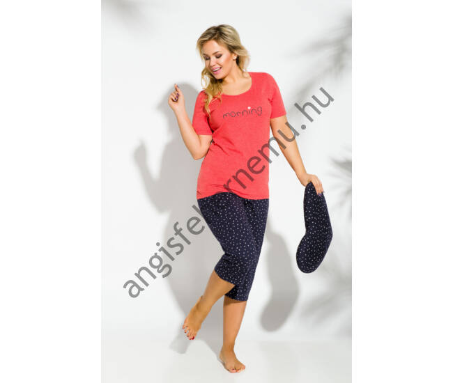 RACHEL Red női pizsama (2193-1)