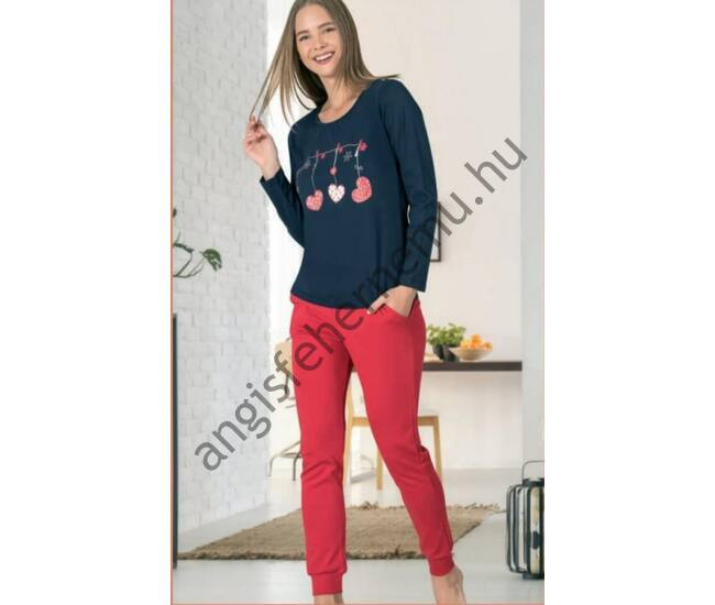 RED HEART női pizsama