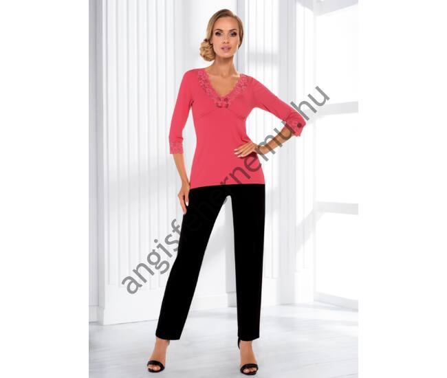 SANDRA Coral Exclusive női pizsama