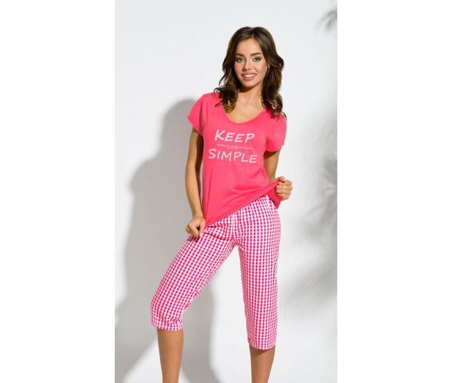 PAULA Dark Pink női pizsama (2159-1)