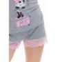 Kép 4/5 - POPPY Gréti Minnie Amaze Me 2 részes trikó szett - SZÜRKE