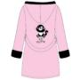 Kép 3/5 - POPPY DK Cute Cica köntös - rózsa-fekete