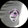 Kép 2/2 - POPPY Cirilla Kutya mintás Hálóing