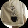 Kép 2/2 - POPPY SLG Coffee Love köntös - kávé-barna